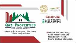 5 ,8 ,10 Marla , 1 Kanal Plots & Apartments Shops for Sale on Easy Installments in Bahria Enclave Is
