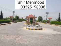 10 Marla Plot For Sale In AWT D-18 Sangjani Islamabad